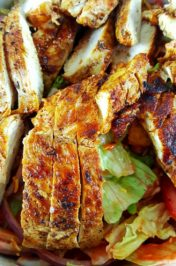 Chicken Taco Texas Salad
