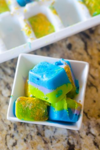 Mermaid Yogurt Bites