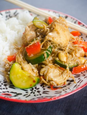 Instant Pot Kung Pao Chicken