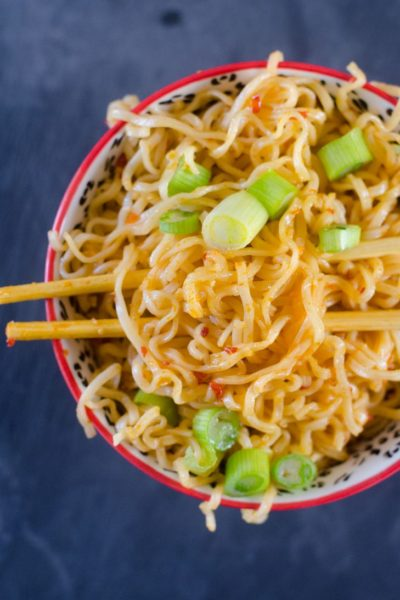 Chili Garlic Noodles