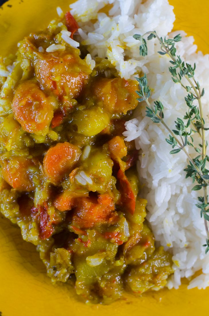 Instant Pot Potato Curry