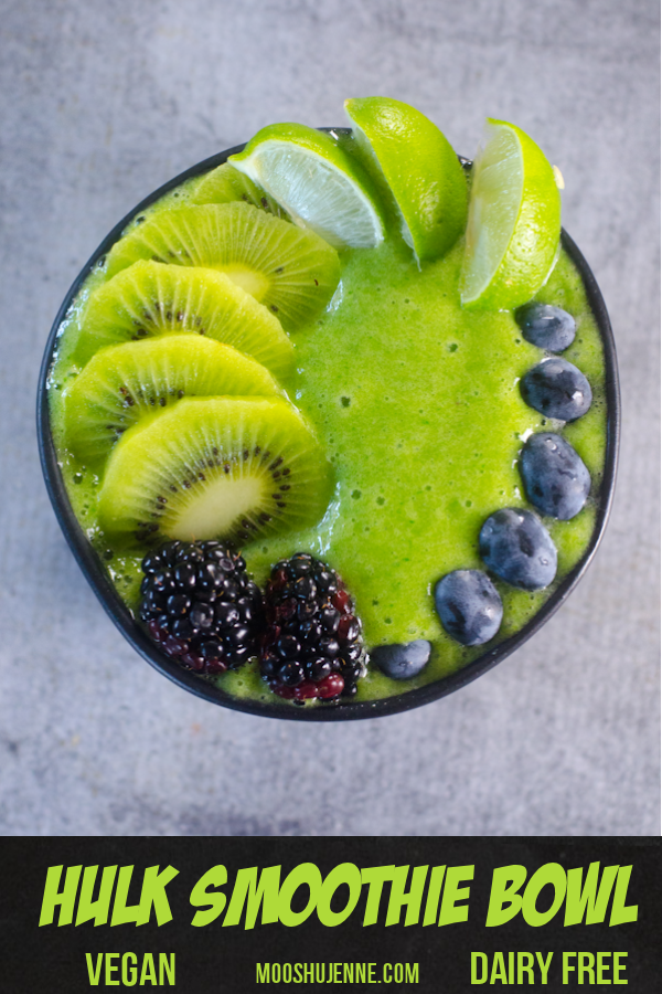 Hulk Smoothie Bowl