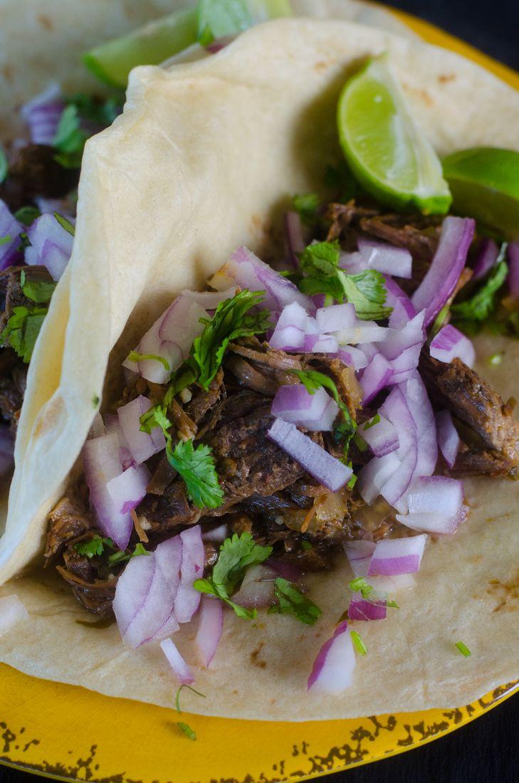 Instant Pot Barbacoa Beef Tacos