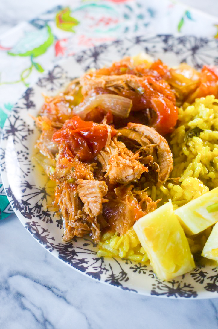 Instant Pot Caribbean Chicken