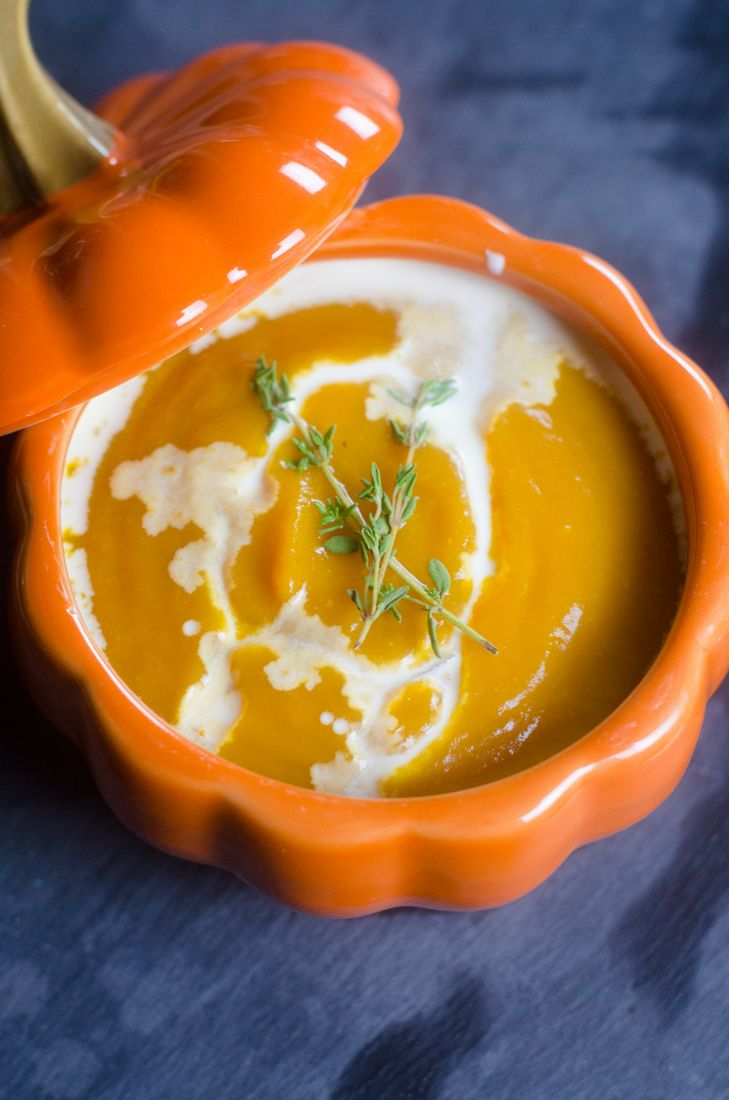 Classic Savory Pumpkin Soup