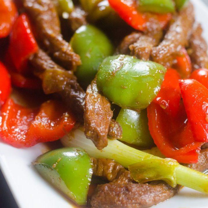 Instant Pot Pepper Beef