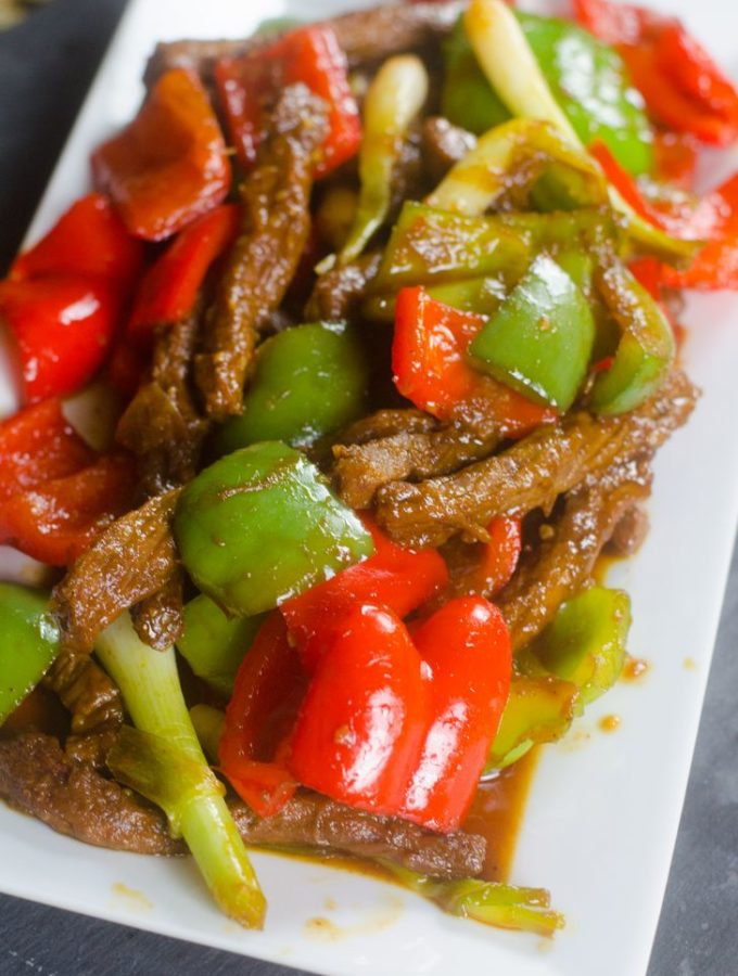 Instant Pot Pepper Beef