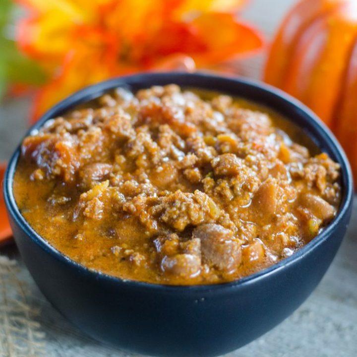Instant Pot Pumpkin Chili