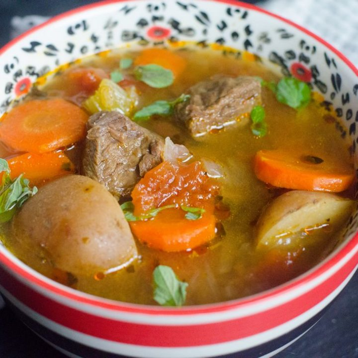 Instant Pot Tuscan Beef Stew
