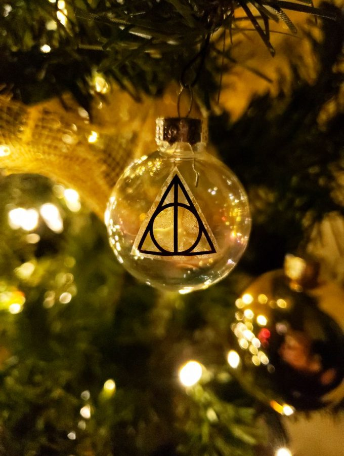 Easy Deathly Hallows Ornaments