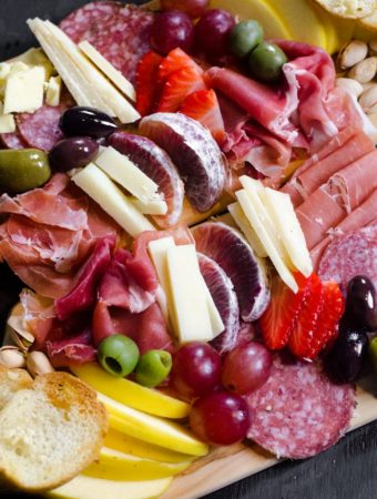 Winter Charcuterie Board