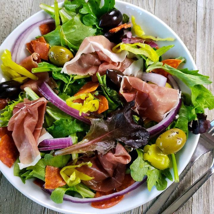 Italian Prosciutto Sub Salad