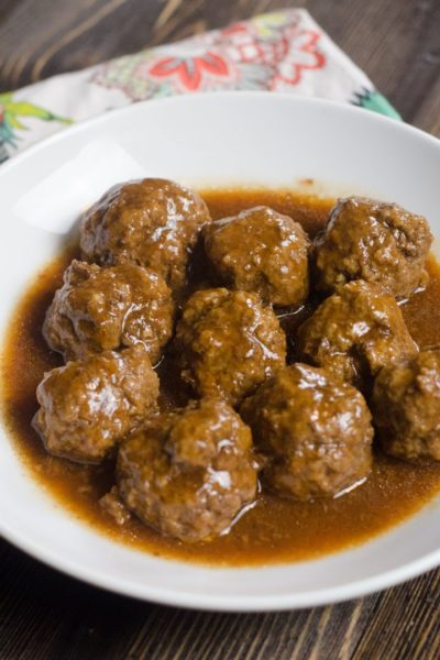 Instant Pot Barbecue Meatballs