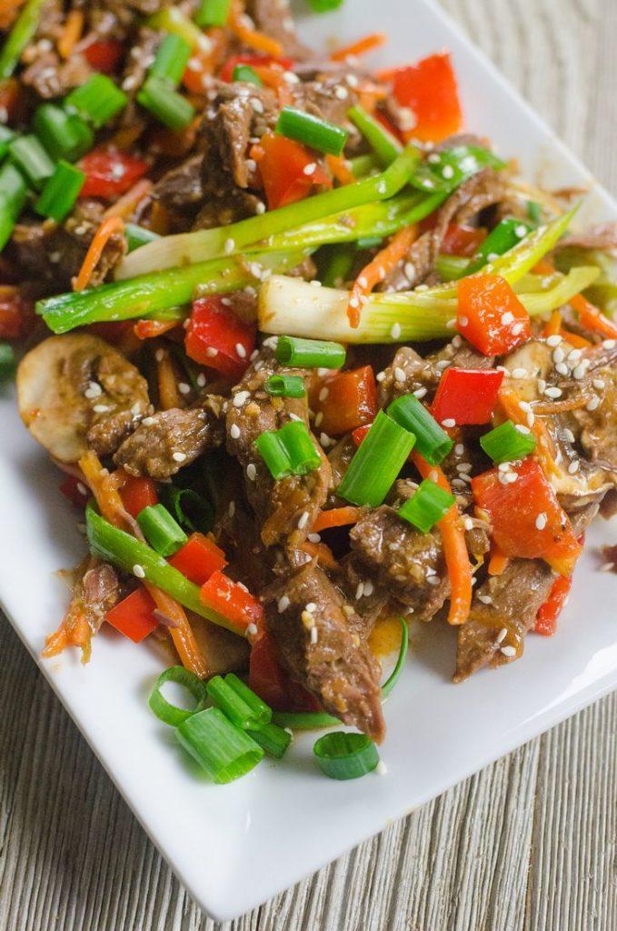 Instant Pot Szechuan Beef