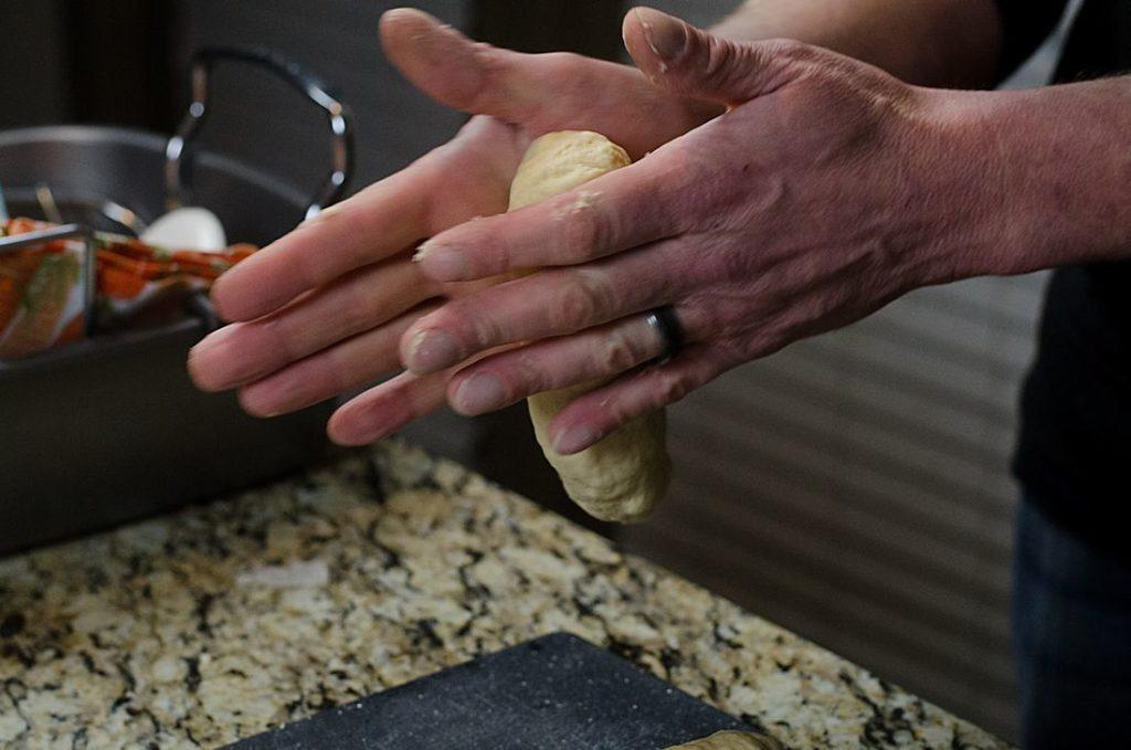 Bread Dumplings Houskový Knedlíky