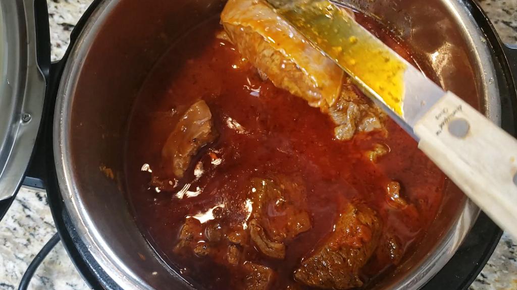 Instant Pot Ragu Cavatappi
