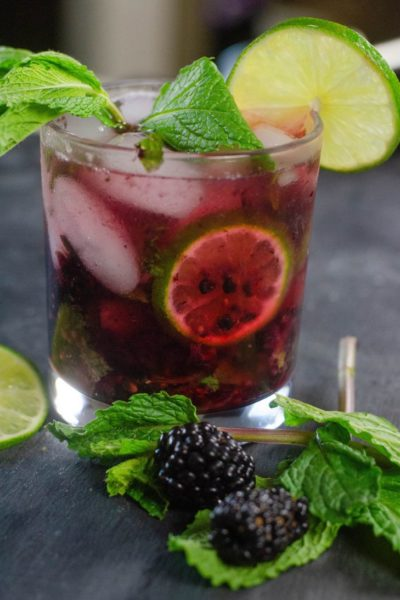 Blackberry Lime Mojito