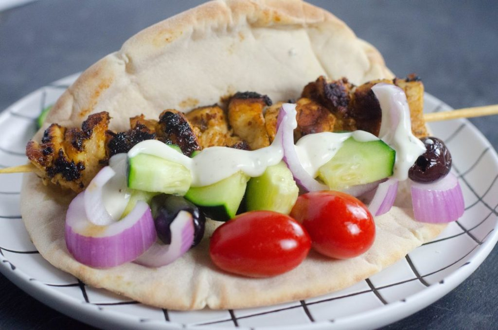 Greek Souvlaki Pita