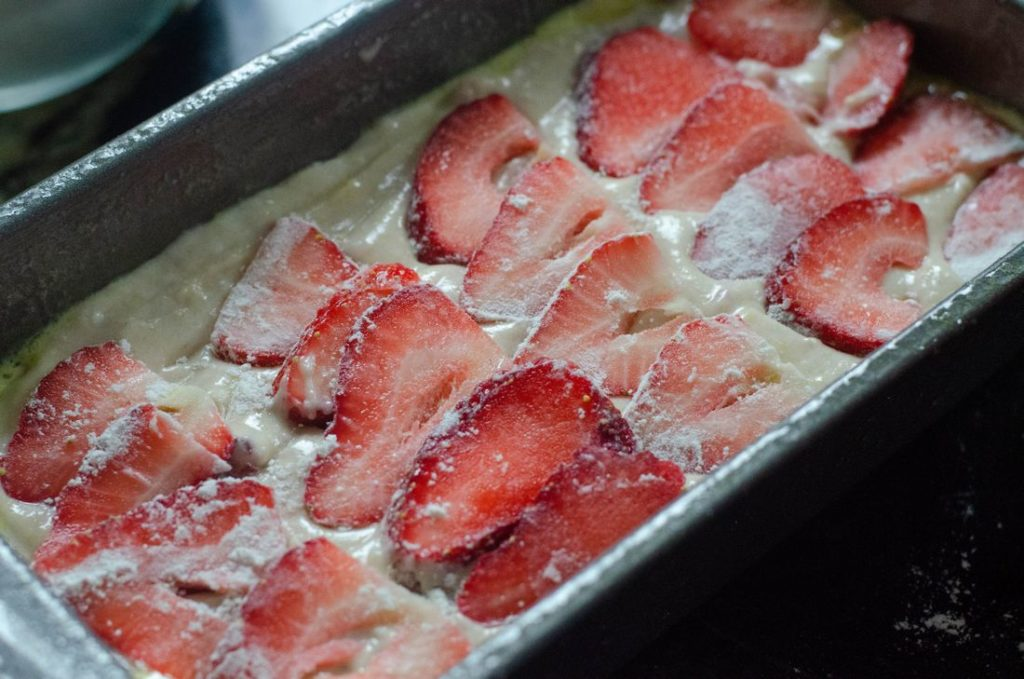 Iced Strawberry Bread Process Picture
