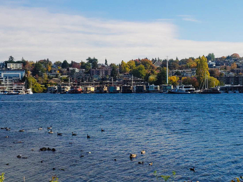 Gas Works Park, Lake Union, Seattle