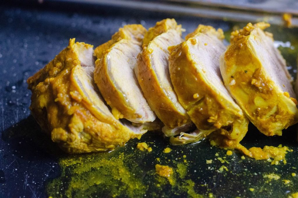 Instant Pot Honey Turmeric Pork Tenderloin