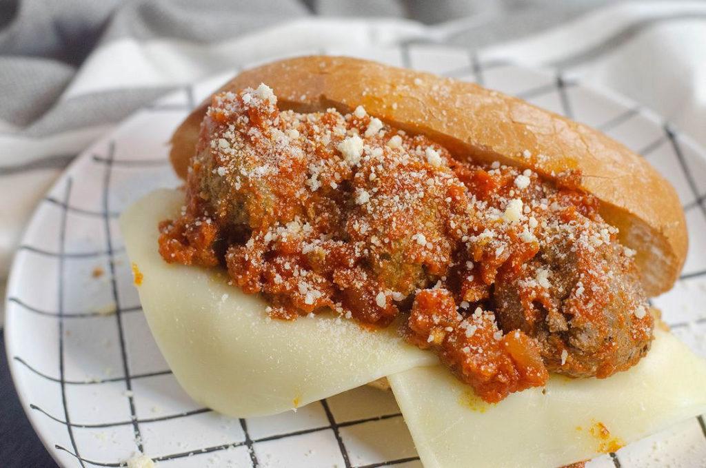 Instant Pot Parmesan Meatball Subs