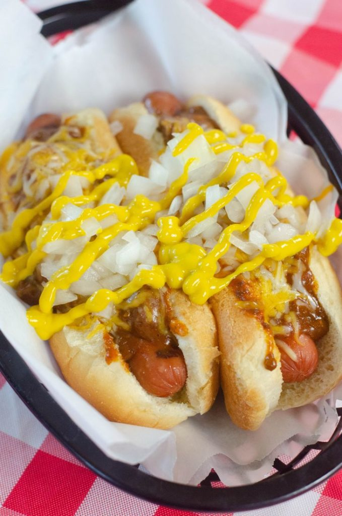 Detroit Coney Hot Dog