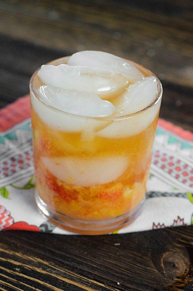 Peach Bourbon Smash 1