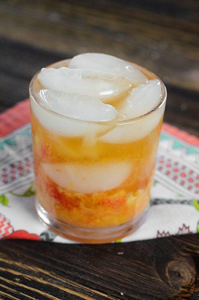 Peach Bourbon Smash 2