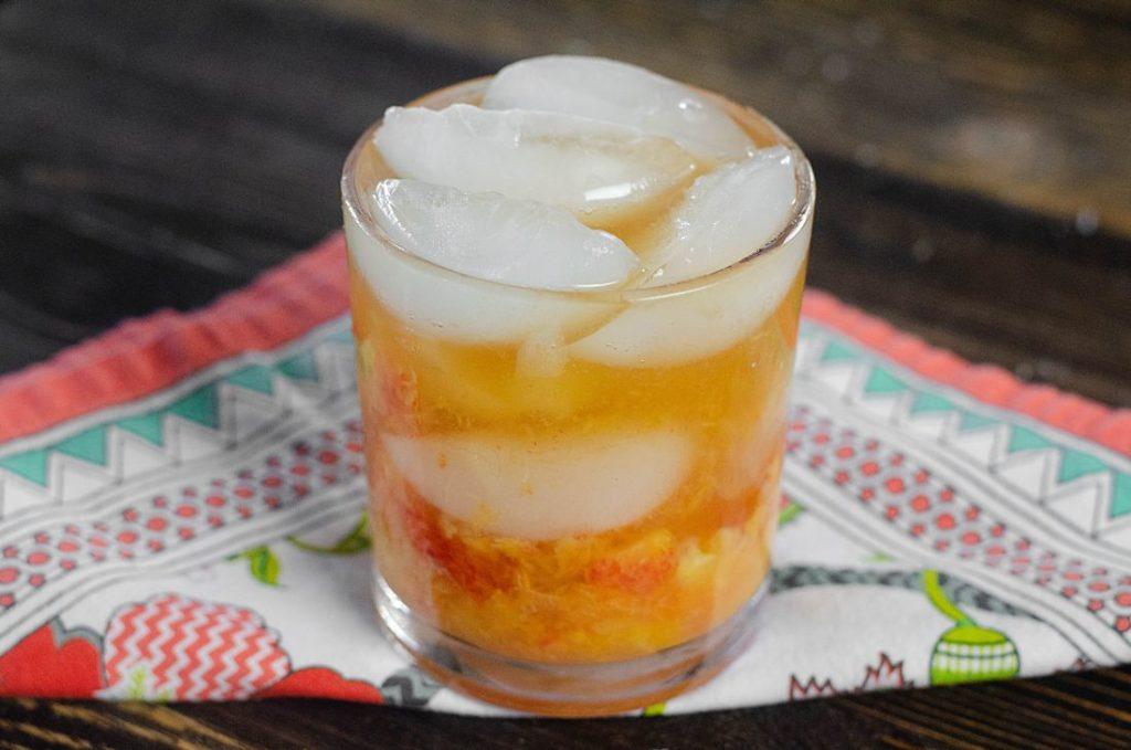 Peach Bourbon Smash 4