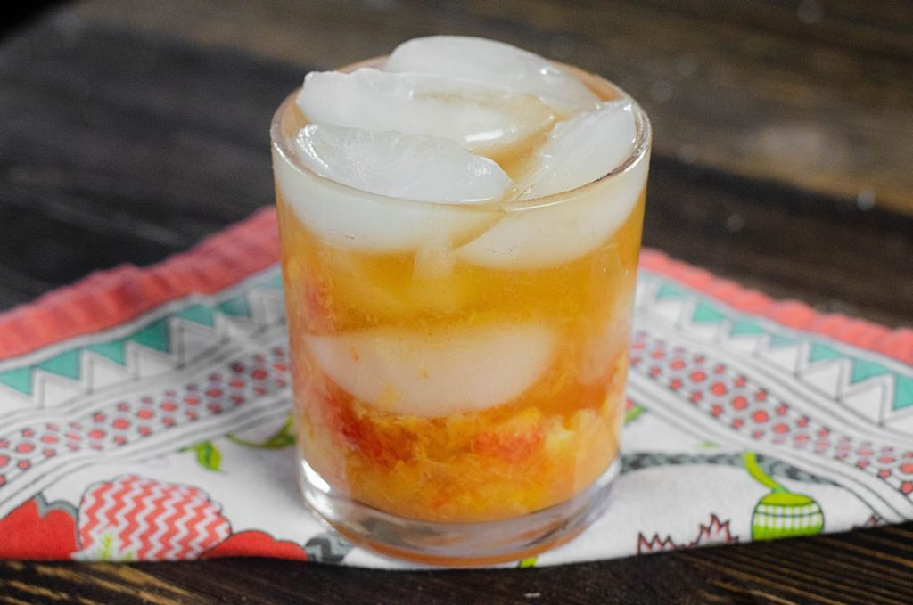 Peach Bourbon Smash 5
