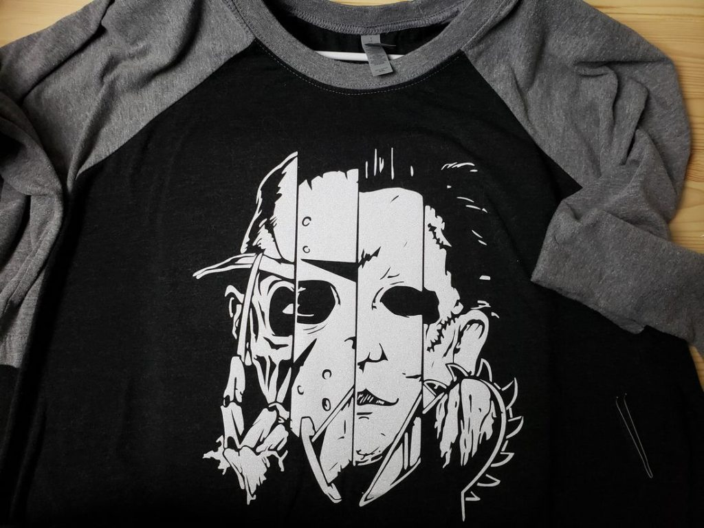 Horror Movie Raglan Shirt