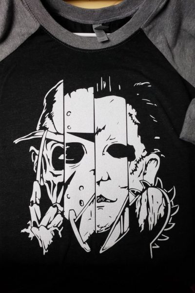 Horror Movie Raglan Shirt