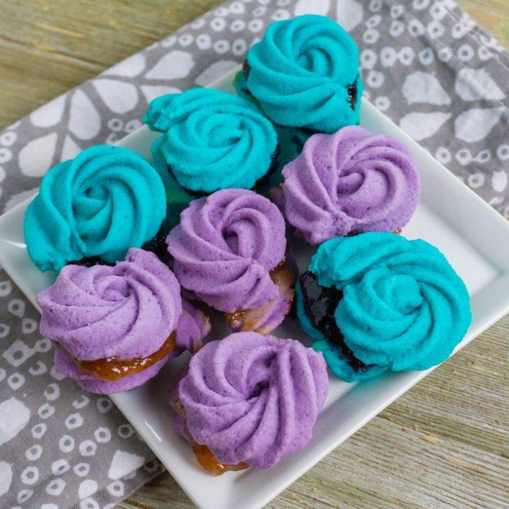 Frozen Inspired Rose Cookies