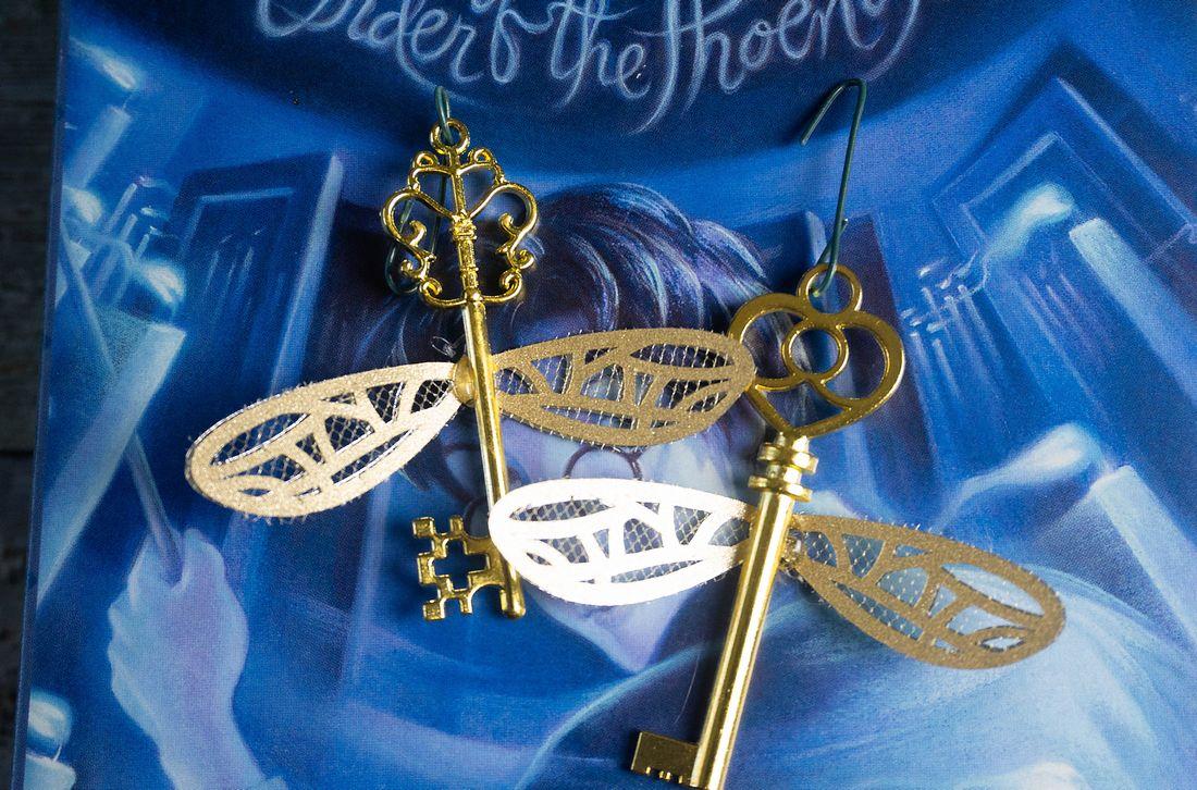 Harry Potter Flying Key Ornaments - Mooshu Jenne