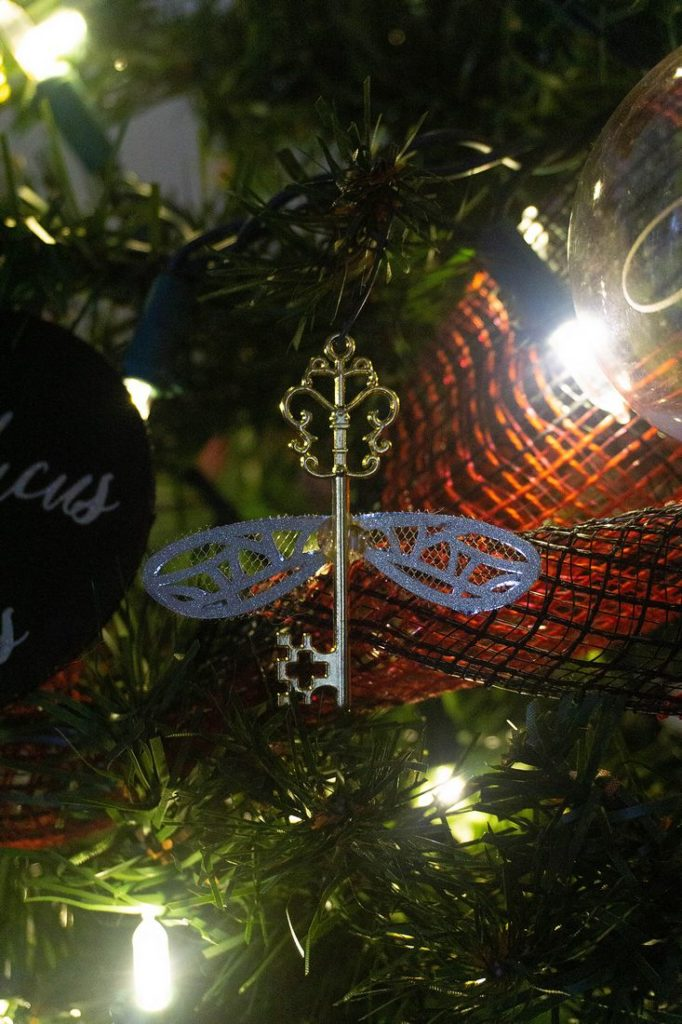 Harry Potter Flying Key Ornaments
