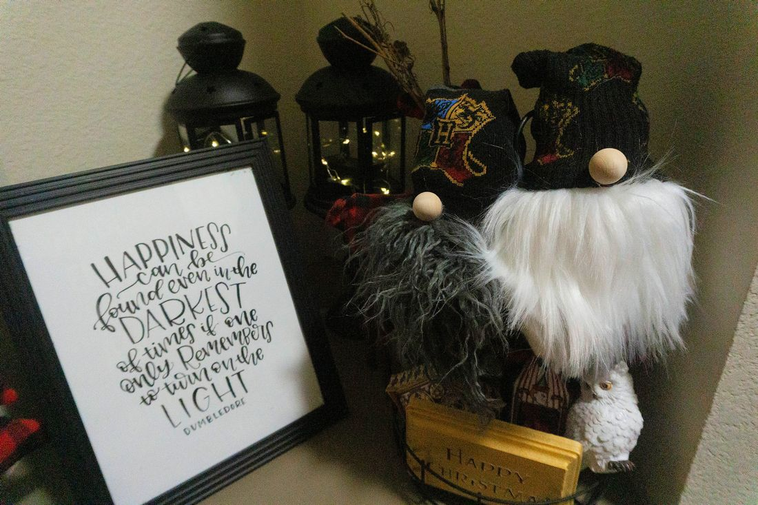 Harry Potter Christmas Gnomes