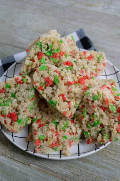 Rice Krispie Heart Holiday Treats
