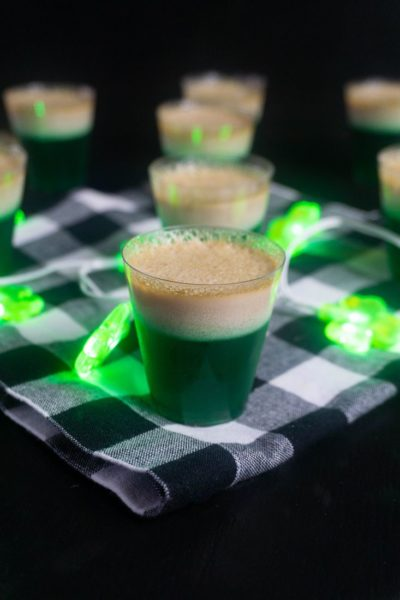 St. Patrick's Day Bailey's Jello Shots
