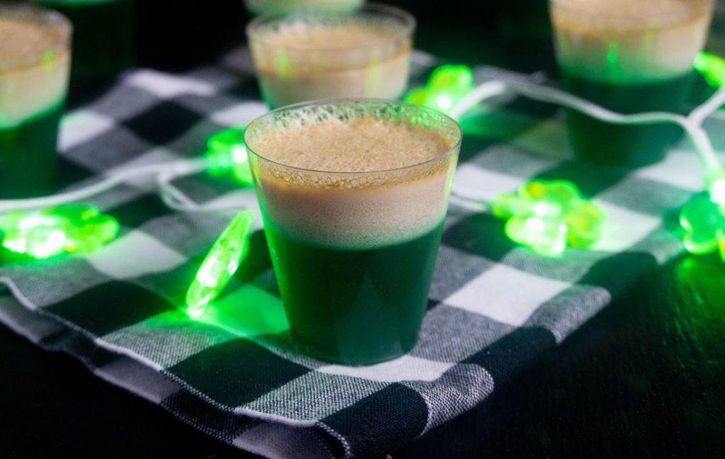 St. Patrick's Day Bailey's Jello Shots