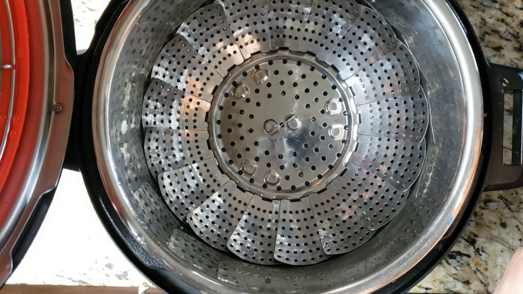 instant pot with steamer insert basket