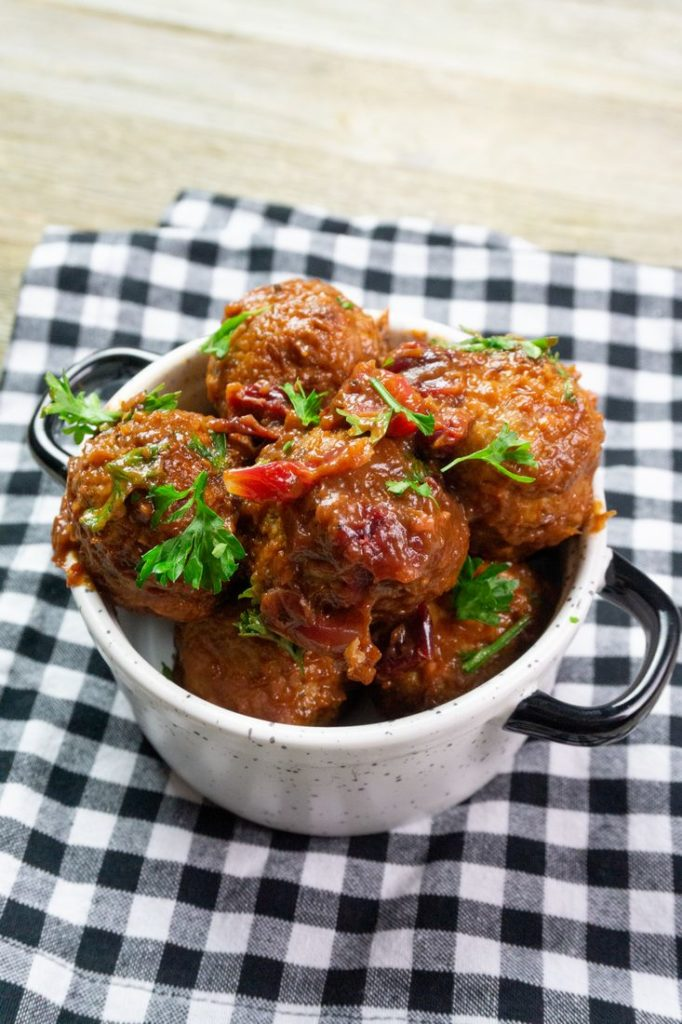 Instant Pot Cranberry Orange Barbecue Meatballs
