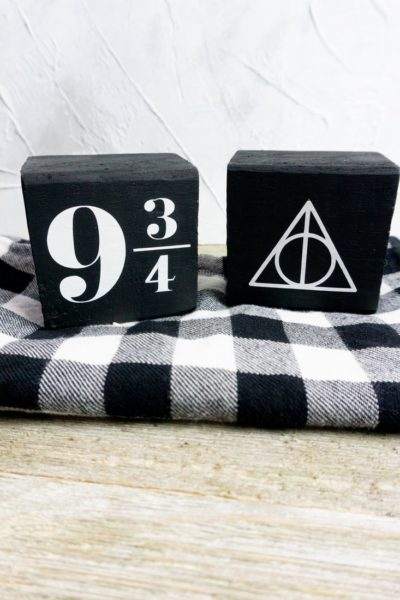 Harry Potter Wood Cricut Signs