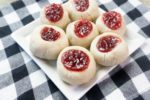 Lingonberry Thumbprint Cookies