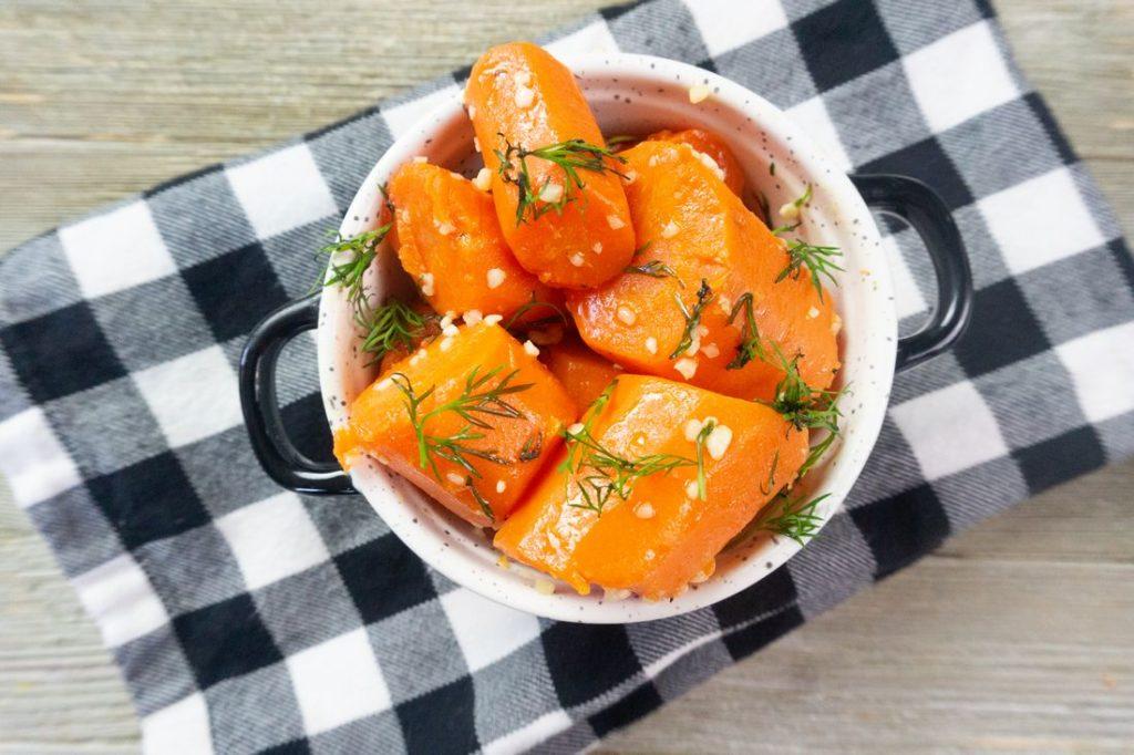 Instant Pot Garlic Dill Carrots